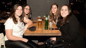 Paula Intilangelo, Ayelén Acosta, Florencia Serra y Luciana Tomino.