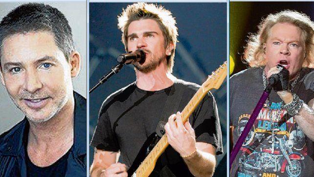 """Sin fronteras. Adrián Suar suspendió el estreno de """"Corazón loco"""". Juanes y Guns N' Roses"""