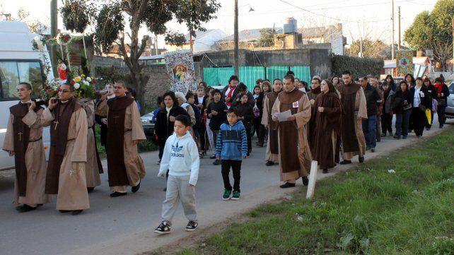 Integrantes del desaparecidoInstituto Discípulos de Jesús de San Juan Bautista.