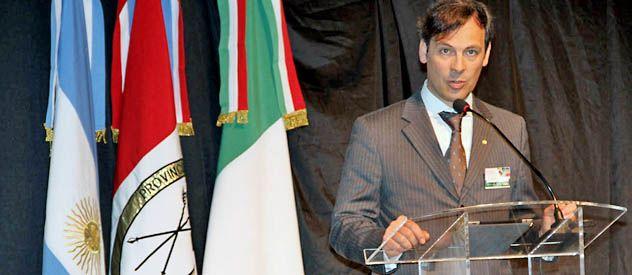 Novicelli participó en Rosario de un foro organizado por la compañía para 150 clientes y proveedores de Latinoamérica.