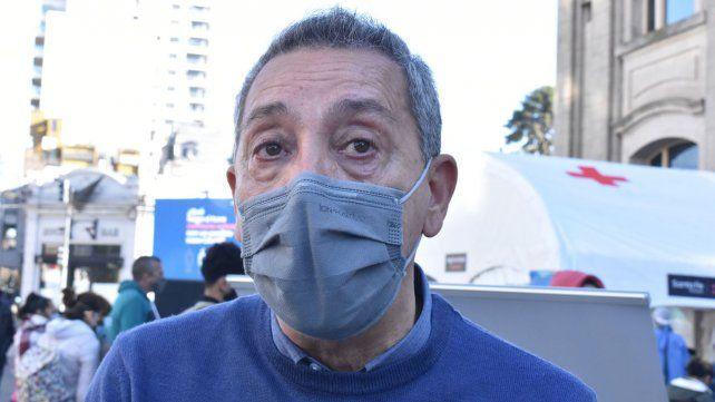 El secretario de Salud de la provincia, Jorge Prieto.