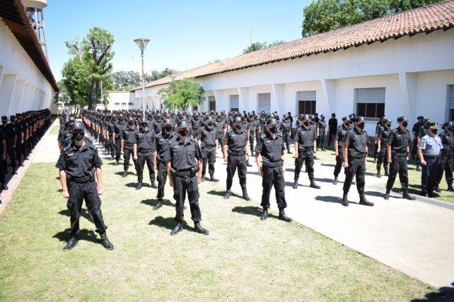 Egreso de cadetes del Isep en Rosario y Recreo: se incorporaron 391 policías a la provincia