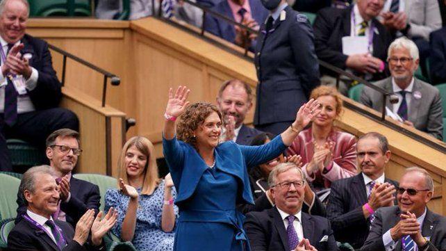 El video de Wimbledon que está dando la vuelta al mundo y no por motivos deportivos