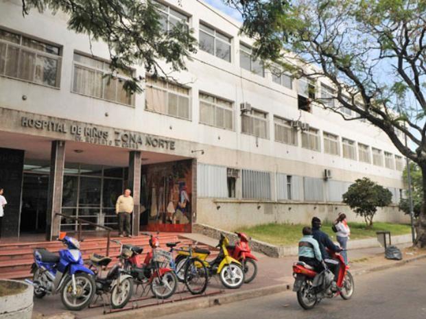 El bebé seguirá internado en el Hospital de Niños Zona Norte.