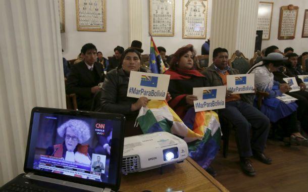 Por TV. Legisladores oficialistas reclaman la salida al mar para Bolivia.