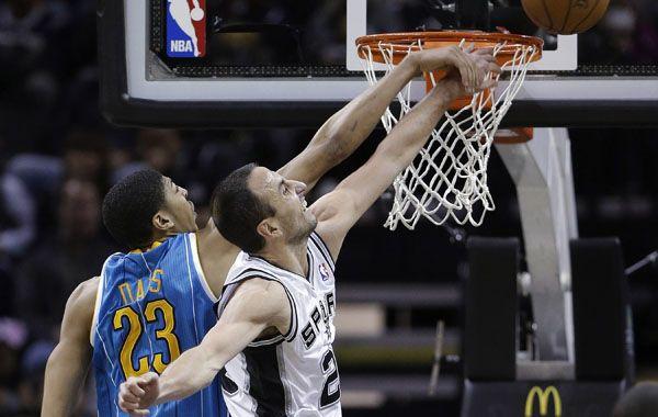 La NBA no para en Navidad y Manu Ginóbili es la estrella