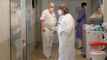 El nivel de ocupación camas de terapia intensiva preocupa a las autoridades.