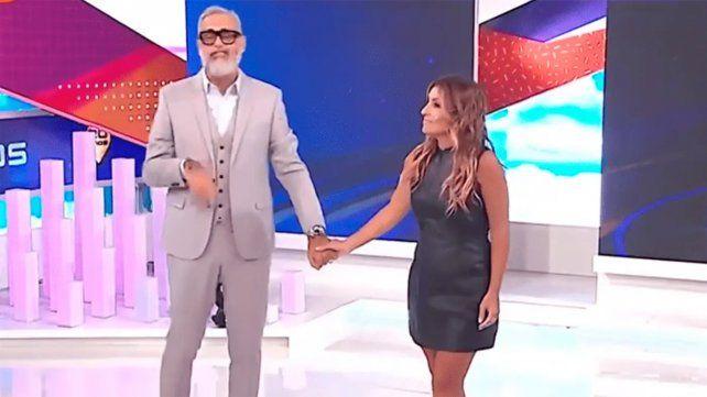 Jorge Rial y Marcela Tauro en otros tiempos