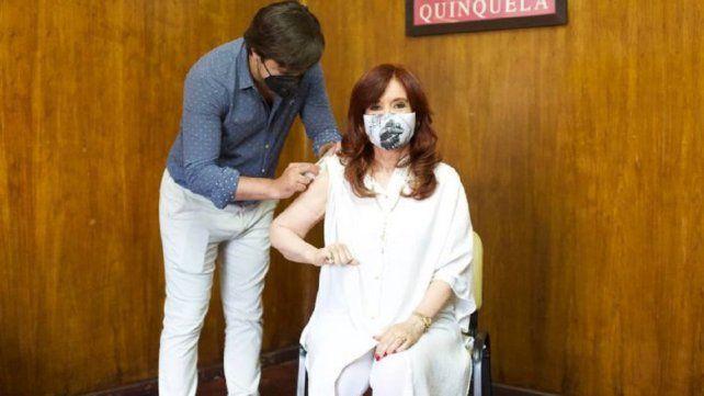 Es-pec-ta-cu-lar el calificativo de Cristina Fernández por la publicación de The Lancet sobre la vacuna rusa
