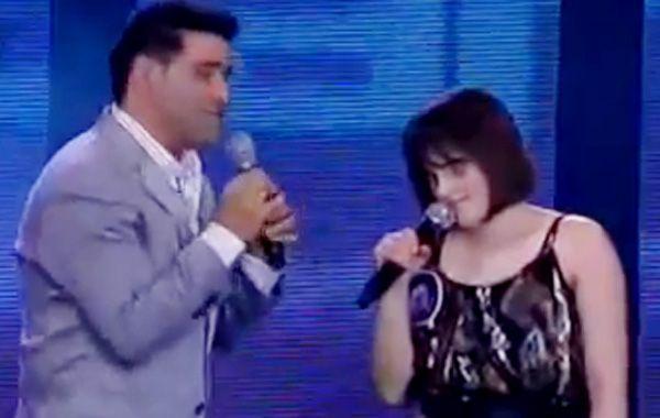 Mar de lágrimas por una chica no vidente en Soñando por cantar