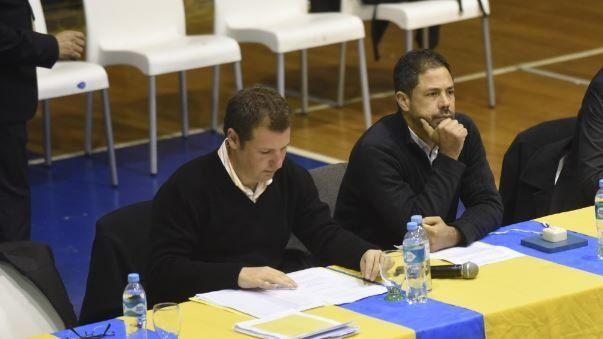 Hanono y Di Pollina, dos de los que expondrán el balance.