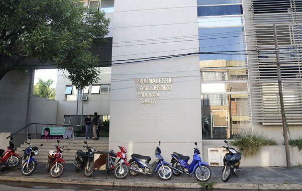 Novedoso. El juicio oral contra Campos fue el primero por homicidio realizado en los Tribunales de San Lorenzo.