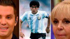 Del Moro habló sobre la muerte de Diego Maradona y acompañó a Claudia en este duro momento.