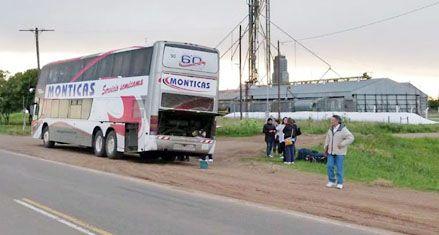 Protestan en Rufino por el pésimo servicio de transporte hacia Rosario