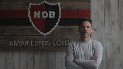 Lucas Bernardi, gerente de fútbol de Newells.