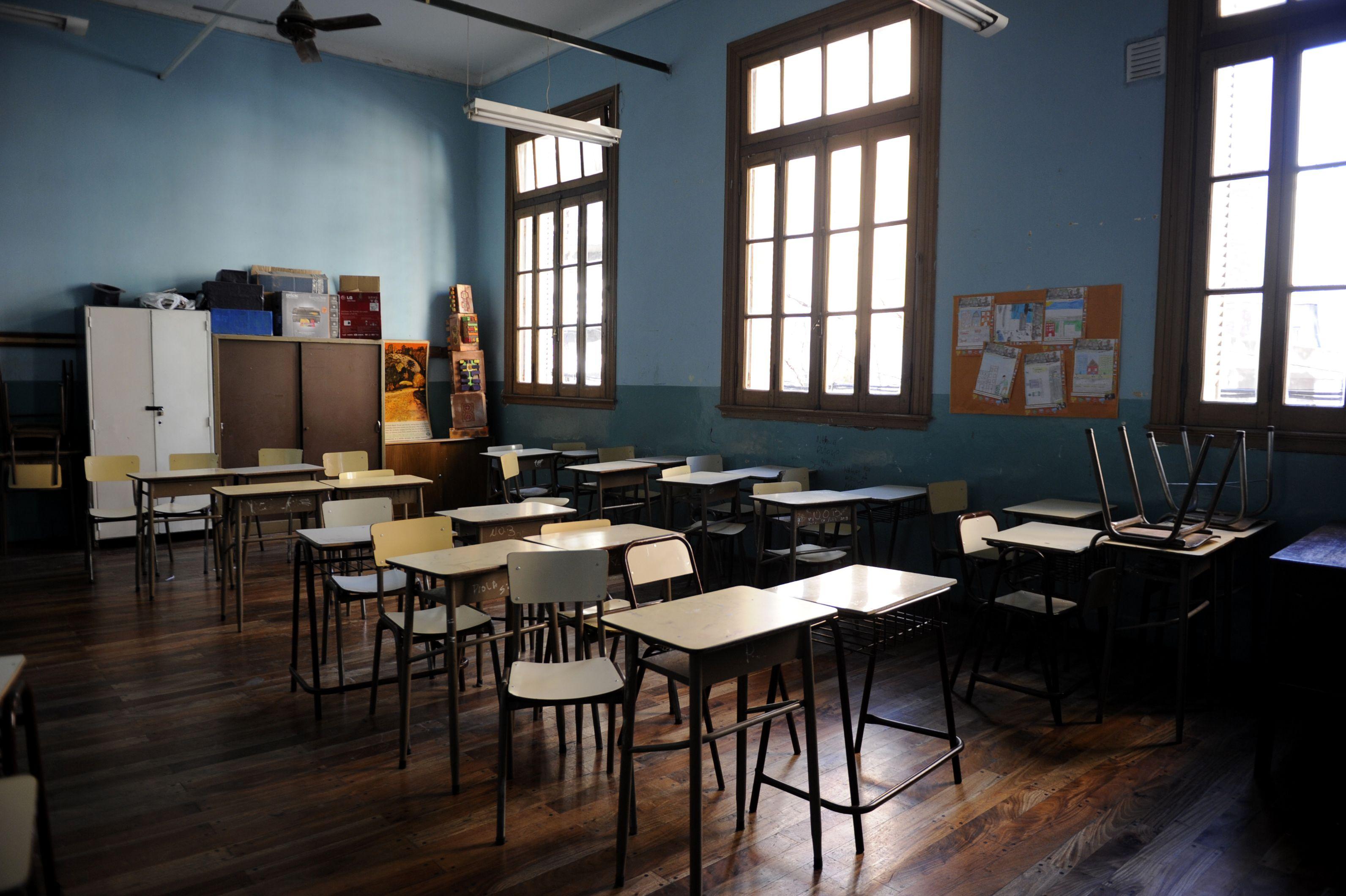 En las escuelas públicas de Rosario hoy no se dictarán clases. (Foto de archivo)