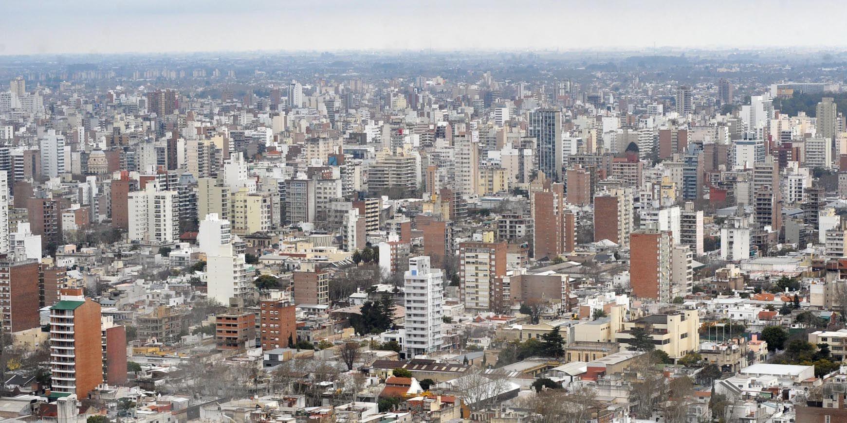 La mitad de la población rosarina vive en unidades de propiedad horizontal