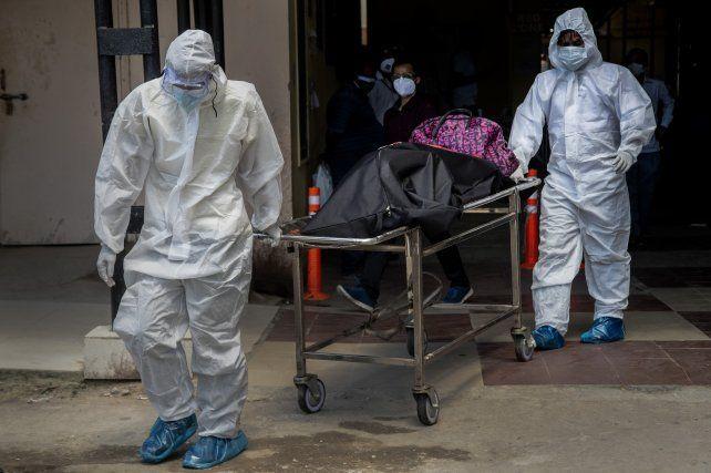 Rosario registró este lunes 7 muertes por coronavirus.