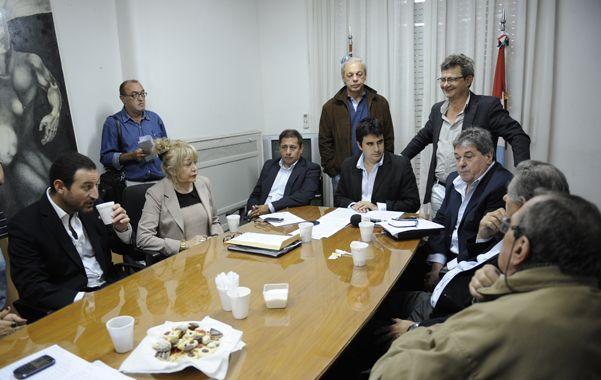 Proyectos. Legisladores vinculados al FPV se reunieron en Rosario.