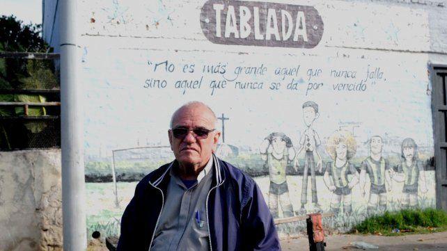 Desde hace cinco años que Catricone desarrolla su tarea social y pastoral en barrio Tablada