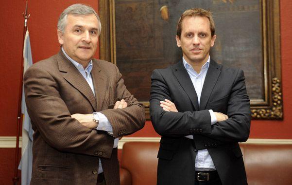 El senador nacional jujeño Gerardo Morales vino a apoyar al precandidato radical Martín Rosúa de cara a las Paso.