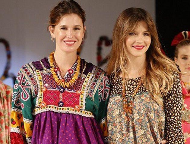 Marcela Kloosterboer cerró la pasada junto a Dolores Barreiro y su marca.