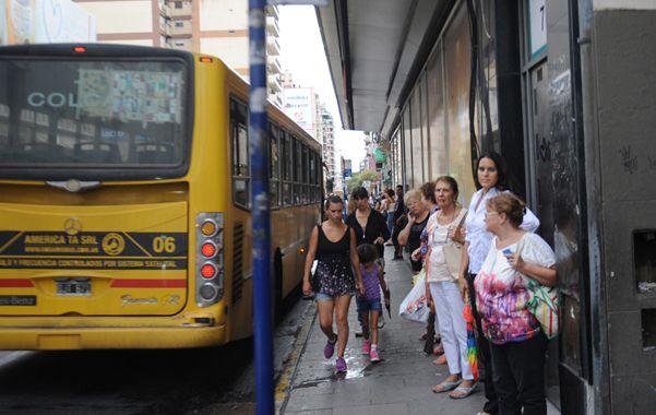 Los usuarios se expresaron sobre la calidad del servicio que prestan los colectivos de la ciudad. (S.Meccia)