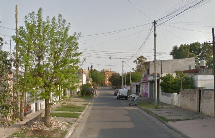 La cuadra donde se produjo el ataque. (foto: captura de Street View)