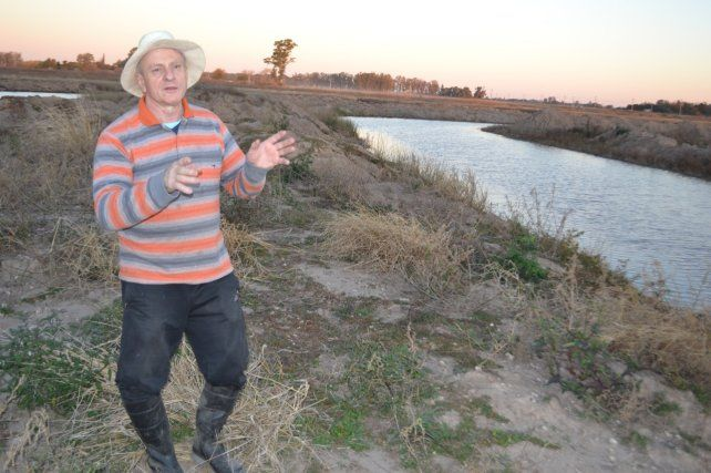 """El emprendedor ecologista, Daniel Ilari, soñó desde siempre con su parque natural. """"De que sirve tener la plata en un plazo fijo"""", resaltó el soñador venadense."""