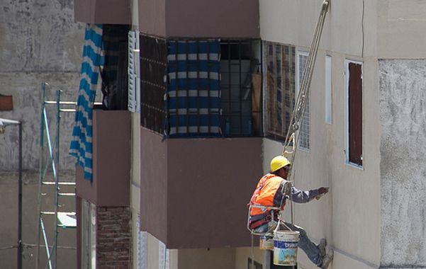Innovación. La pintura produjo un cambio fuerte en las torres.