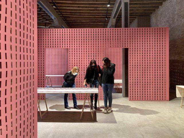La casa infinita en la Bienal de Venecia.