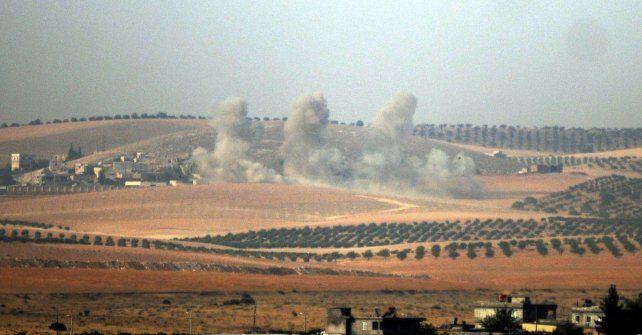 Operativo militar. La artillería turca impacta en la zona fronteriza con Siria