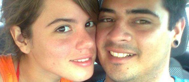 Luján Peñalva y Exequiel Fredes. Ella escribió: Me voy a matar.