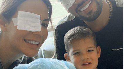 La mujer de Ezequiel Garay confirmó que la operación de su hijo salió muy bien