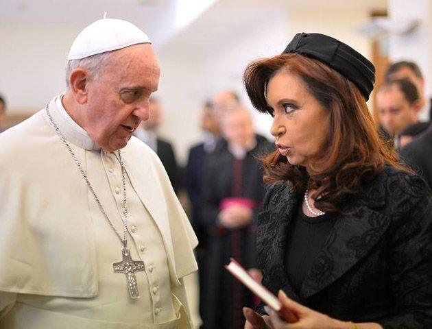 La mandataria volverá a esar cara a cara con el Papa Francisco.