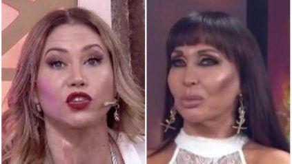 Moria Casán y Adabel Guerrero, una pelea que continúa fuera de la competencia.