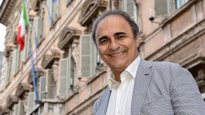 """""""Es una gran victoria"""", dijo el senador italoargentino Ricardo Merlo."""