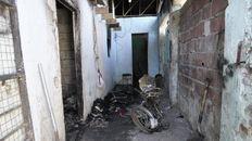 El incendio ocurrió en un departamento de pasillo de Amenábar al 4300.