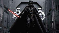 Darth Vader era el malvado de la saga.