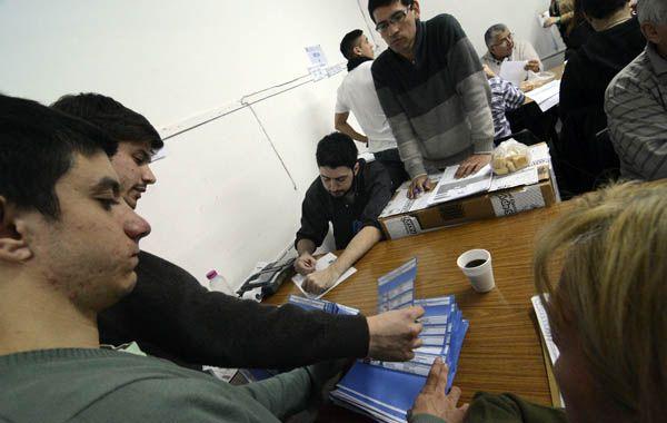 Está finalizando un proceso electoral fiscalizado por todas las fuerzas políticas