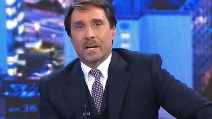 El periodista Eduardo Feinmann mostró una foto vieja de Alberto Fernández para criticarlo.