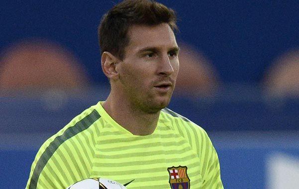 Genio. Lionel Messi