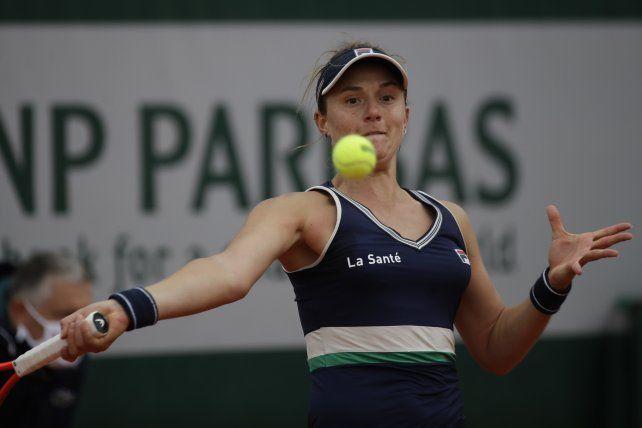 La rosarina Podoroska arrancó con un triunfo en Austria