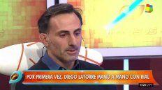 Afligido. Así se lo vio ayer al ex jugador en el programa de Jorge Rial.