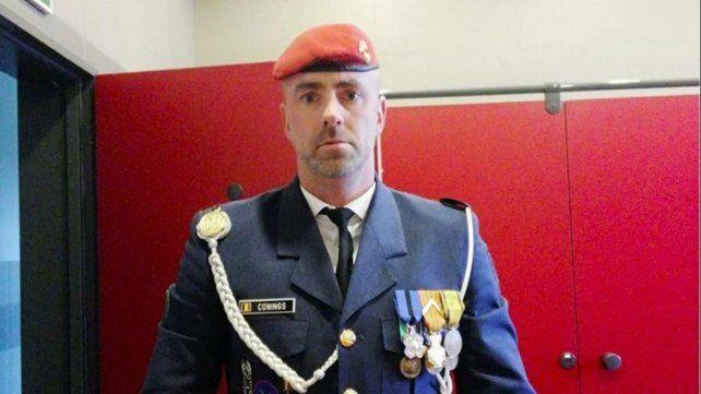 El Rambo belga. El militar