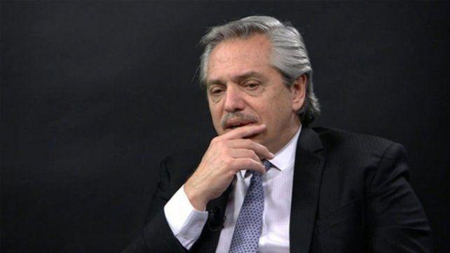 Preocupado..El presidente fue consultado sobre las propuestas de estatización de Vicentín.