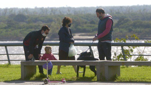 El municipio evalúa el ánimo de los rosarinos en cuarentena.