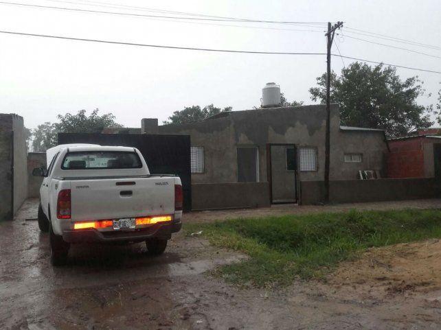 La droga hallada en Reconquista fue comprada en esta casa de Santo Tomé donde vive Rodrigo Rozeck.