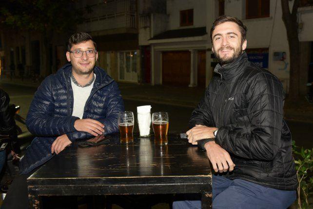 Franco Camardo y Marcos Zibecchi
