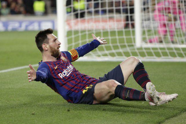 La magia de Messi anestesió a Liverpool y dejó a Barcelona a un paso de la final